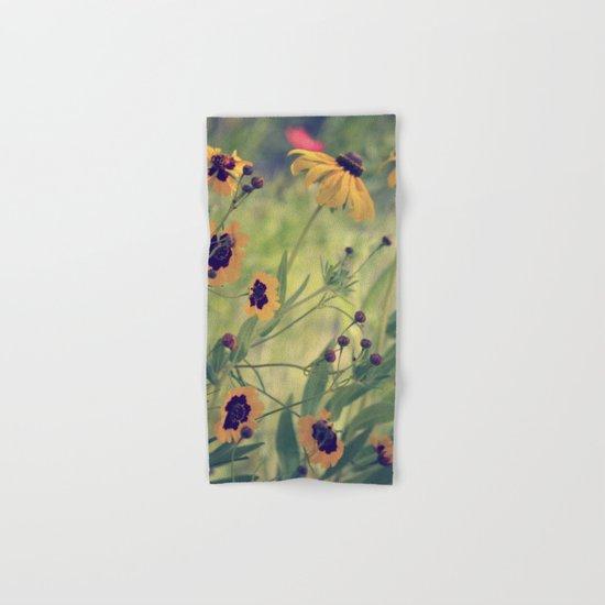 Golden Garden Hand & Bath Towel