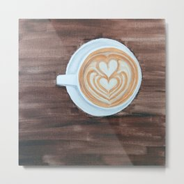 Whole Latte Love Metal Print