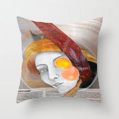 HUEVO GEHRY Throw Pillow