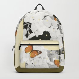 Hydrangea And Butterflies in Frame #decor #society6 Backpack