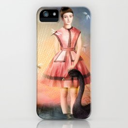 Girl In The Lake iPhone Case