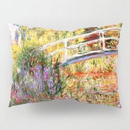"Claude Monet ""Water lily pond, water irises"" Pillow Sham"