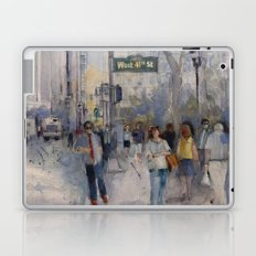 West 42nd Street - What's the Hurry. Laptop & iPad Skin