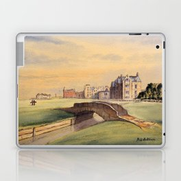 St Andrews Golf Course Scotland 18th Hole Laptop & iPad Skin
