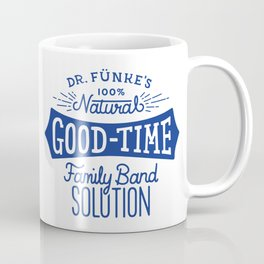 Dr. Funke's 100% Natural Good-Time Family Band Solution Coffee Mug