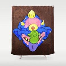 my pet madball Shower Curtain