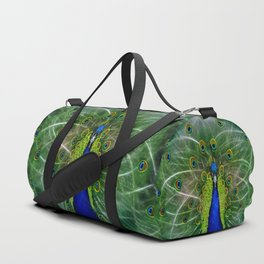 Peacock dreamcatcher Duffle Bag