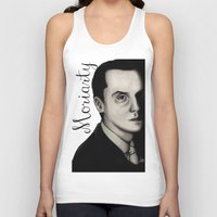 moriarty Tank Tops featuring Moriarty by LiseRichardson