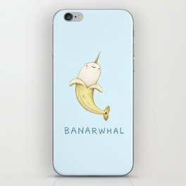 Banarwhal iPhone Skin