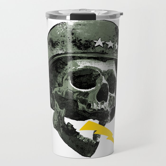 General's Skull Travel Mug