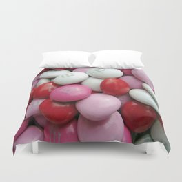 Valentine Candy Duvet Cover