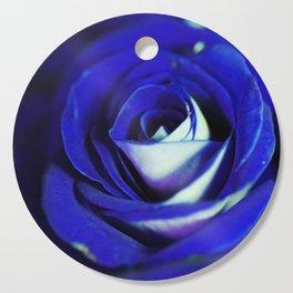 Blue Rose Cutting Board
