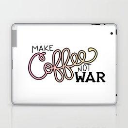 Coffee Not War (Sunset) Laptop & iPad Skin