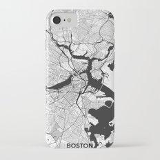 Boston Map Gray iPhone 7 Slim Case