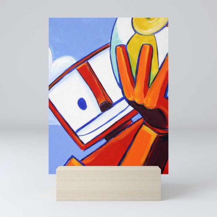 Beachballer Mini Art Print