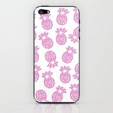 pink pineapple  iPhone & iPod Skin