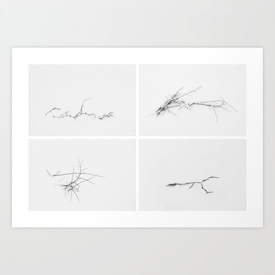 Signatures Art Print