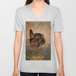 Wild Turkey Unisex V-Neck