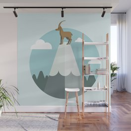 King of the mountain Wall Mural