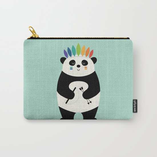 Be Brave Panda Carry-All Pouch