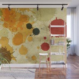 Golden Rod Splash Wall Mural