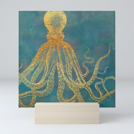 Deep Sea Life Octopus Mini Art Print