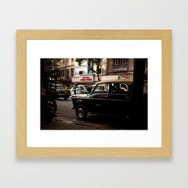 Mumbai Taxi Framed Art Print
