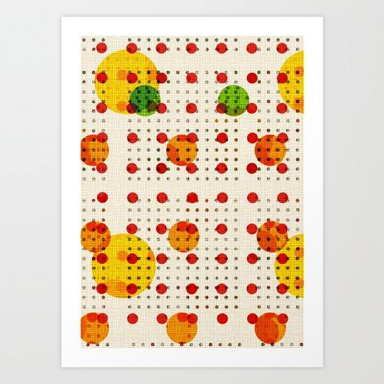 Spotty v1 Art Print