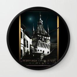 #SighisoaraClockTower IV Wall Clock