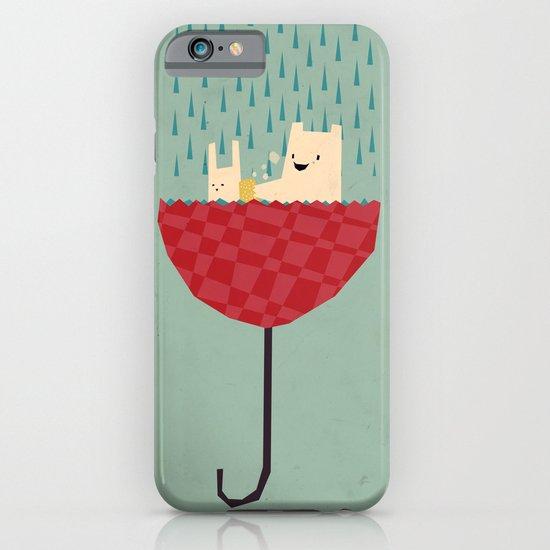 umbrella bath time! iPhone & iPod Case
