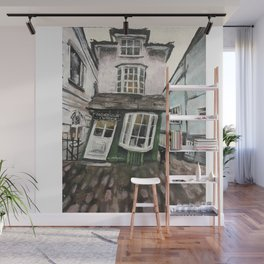 The Crooked House on Windsor Wall Mural