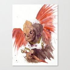 Grandmother Death II Canvas Print
