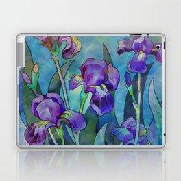 Fantasy Irises Laptop & iPad Skin