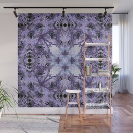 Inverse Fern Reflection Wall Mural