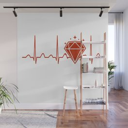 Jeweler Heartbeat Wall Mural