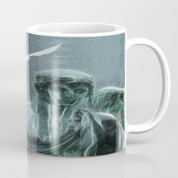 angel Mugs featuring Angel by Lucia