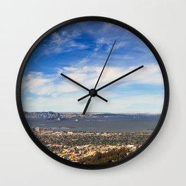 San Francisco Bay Area Wall Clock
