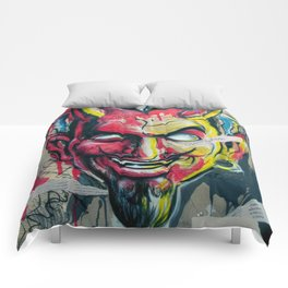 The Devil Made Me Do It Comforters