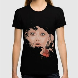 Splash portrait T-shirt