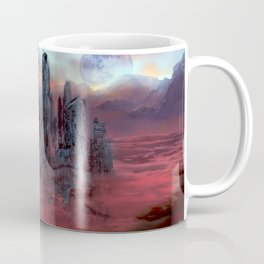 Wolves of Future Past landscape Coffee Mug