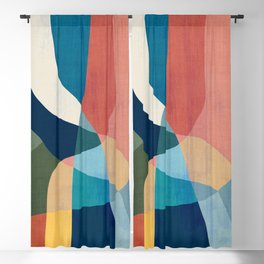 Waterfall and forest Blackout Curtain