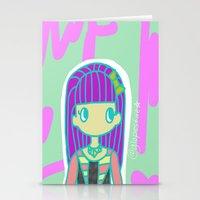 jojo Stationery Cards featuring Jojo by Glopesfirestar