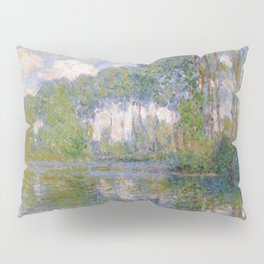 Claude Monet -- Poplars at the Epte Pillow Sham