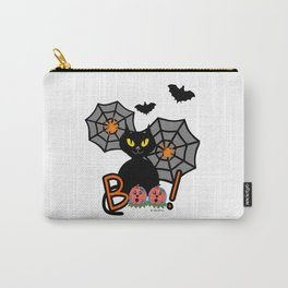 Happy Whimsical Halloween Carry-All Pouch
