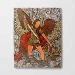 Arch Angel Michael Metal Print