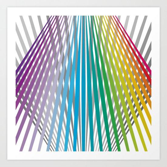 Shapes #31 Art Print