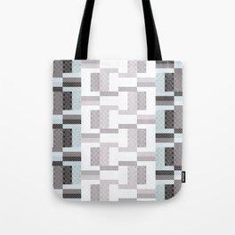 Border Geometric Tote Bag
