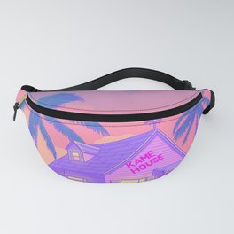80s Kame House Fanny Pack