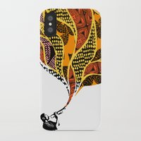 trumpet iPhone & iPod Cases featuring Trumpet by VickiJohnson