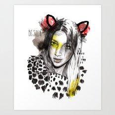 Bestia Art Print